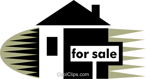 Real Estate Royalty Free Vector Clip Art illustration vc075392