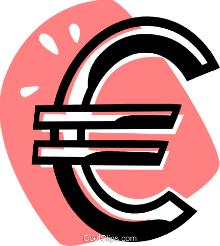 currency symbol Royalty Free Vector Clip Art illustration vc075714