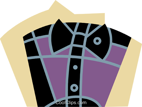 Shirts Royalty Free Vector Clip Art illustration vc077323