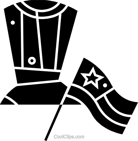 Independence Day Royalty Free Vector Clip Art illustration vc077326