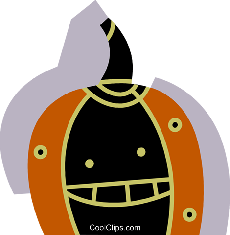 Pumpkins Royalty Free Vector Clip Art illustration vc077335