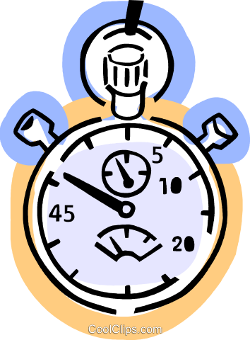 Stopwatches Royalty Free Vector Clip Art illustration vc077354