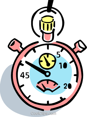 Stopwatches Royalty Free Vector Clip Art illustration vc077355