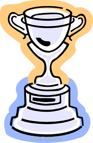 Trophies, Awards Winning Prize Royalty Free Vector Clip Art illustration vc077370