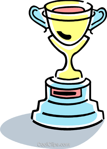 Trophies, Awards Winning Prize Royalty Free Vector Clip Art illustration vc077371