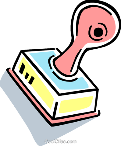 Rubber Stamps Royalty Free Vector Clip Art illustration vc077419