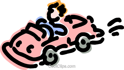 Family Cars Royalty Free Vector Clip Art illustration vc077448