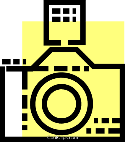 Cameras Royalty Free Vector Clip Art illustration vc077552