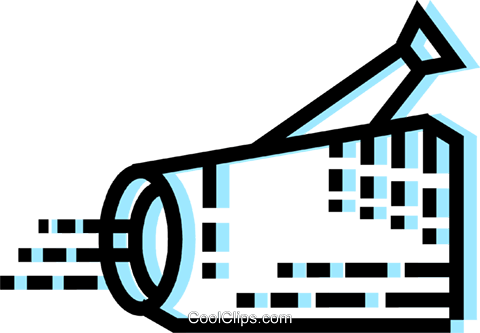 Video Cameras Royalty Free Vector Clip Art illustration vc077624