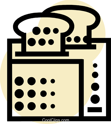 Toasters Royalty Free Vector Clip Art illustration vc077640