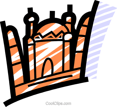 International Buildings Royalty Free Vector Clip Art illustration vc077724