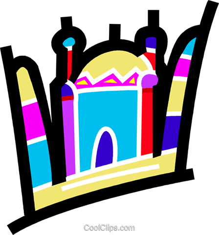 International Buildings Royalty Free Vector Clip Art illustration vc077726