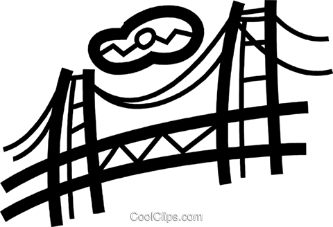 Golden Gate Bridge Vektor Clipart Bild vc077733
