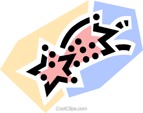 Stars Royalty Free Vector Clip Art illustration vc077772