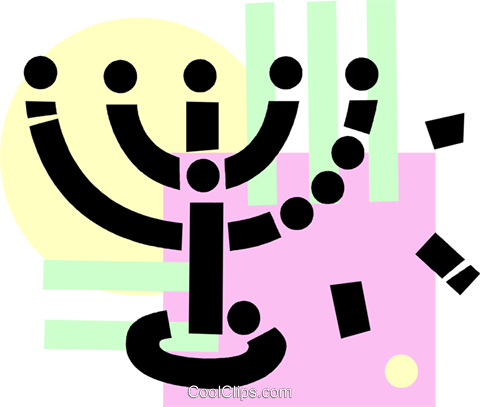Rabbi Royalty Free Vector Clip Art illustration vc077834