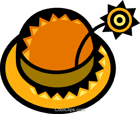 Hats Royalty Free Vector Clip Art illustration vc077848