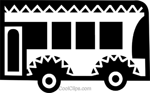 Urban Transportation Royalty Free Vector Clip Art illustration vc077882