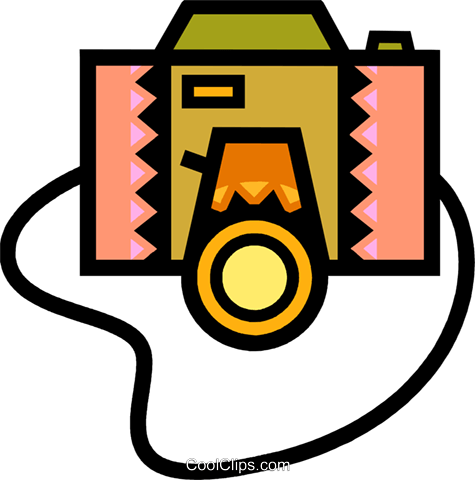 Cameras Royalty Free Vector Clip Art illustration vc077888