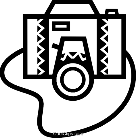 Cameras Royalty Free Vector Clip Art illustration vc077889