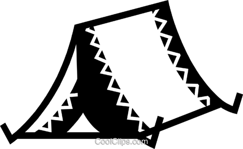 Tents Royalty Free Vector Clip Art illustration vc077906