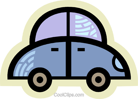Family Cars Royalty Free Vector Clip Art illustration vc077960