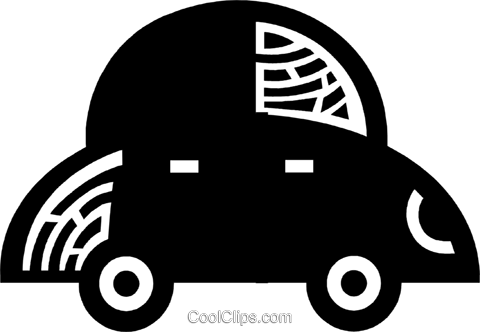 Family Cars Royalty Free Vector Clip Art illustration vc077961