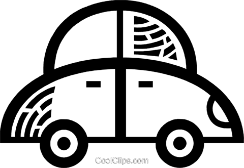 Family Cars Royalty Free Vector Clip Art illustration vc077962