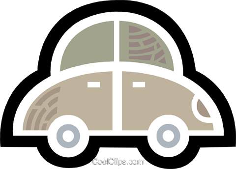 Family Cars Royalty Free Vector Clip Art illustration vc077963