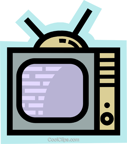 Televisions Royalty Free Vector Clip Art illustration vc077996