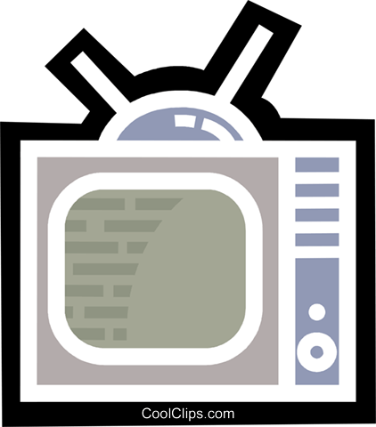 Televisions Royalty Free Vector Clip Art illustration vc077999