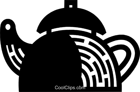 Kettles Royalty Free Vector Clip Art illustration vc078013