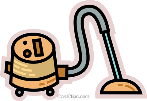Vacuum Cleaners Royalty Free Vector Clip Art illustration vc078028