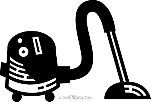 Vacuum Cleaners Royalty Free Vector Clip Art illustration vc078029