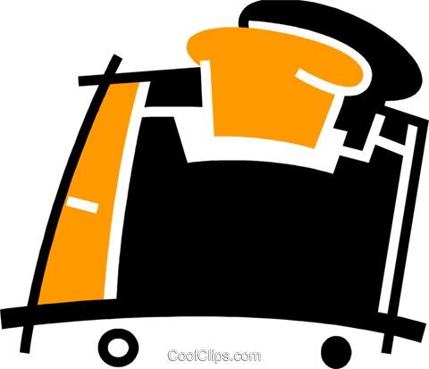 Toasters Royalty Free Vector Clip Art illustration vc078088