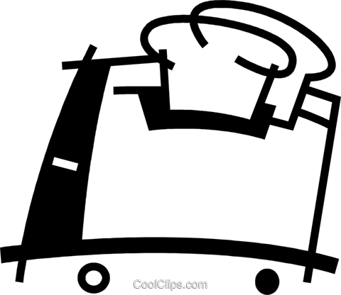 Toasters Royalty Free Vector Clip Art illustration vc078089