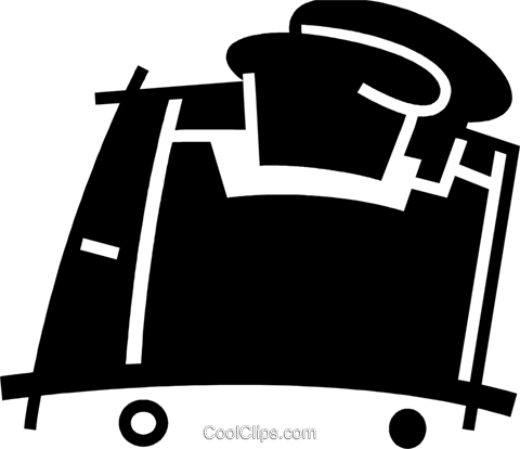 Toasters Royalty Free Vector Clip Art illustration vc078090