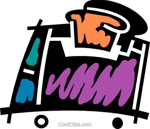 Toasters Royalty Free Vector Clip Art illustration vc078091