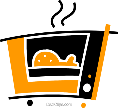 Electric Ovens Royalty Free Vector Clip Art illustration vc078092