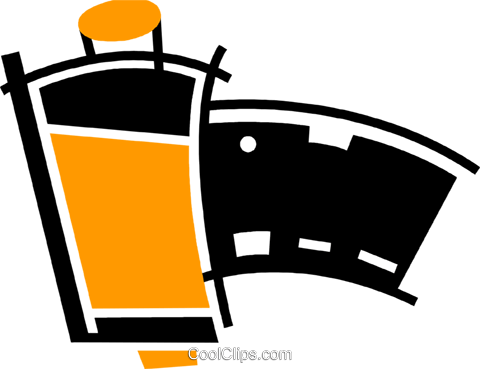 Film Royalty Free Vector Clip Art illustration vc078100