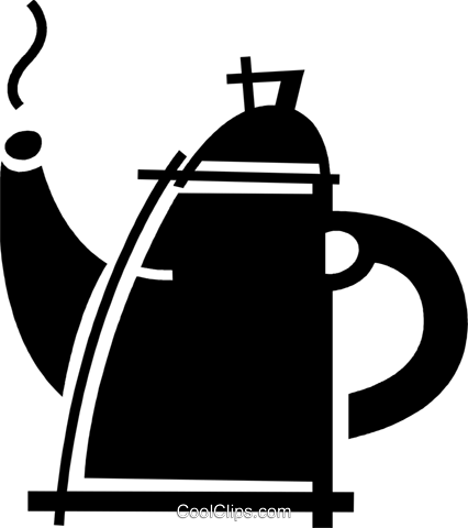 Teapots Royalty Free Vector Clip Art illustration vc078110