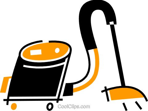 Vacuum Cleaners Royalty Free Vector Clip Art illustration vc078116
