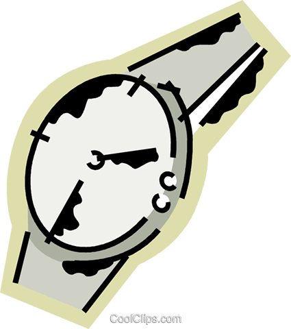 Wristwatches Royalty Free Vector Clip Art illustration vc078202