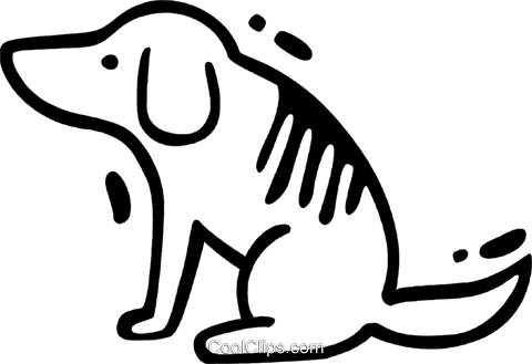 Misc Dogs Royalty Free Vector Clip Art illustration vc078271
