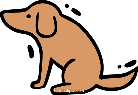 Misc Dogs Royalty Free Vector Clip Art illustration vc078273