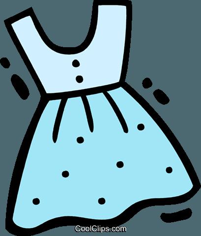 礼服 免版税矢量剪贴画插图