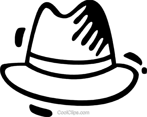 Hats Royalty Free Vector Clip Art illustration vc078279