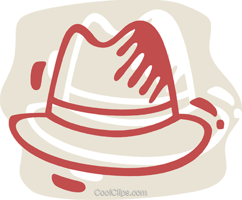 Hats Royalty Free Vector Clip Art illustration vc078280