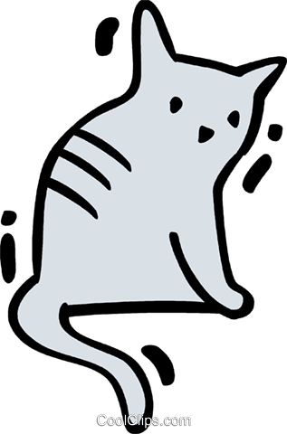 Cats Royalty Free Vector Clip Art illustration vc078337