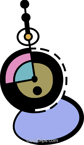 Pocket watches Royalty Free Vector Clip Art illustration vc078394
