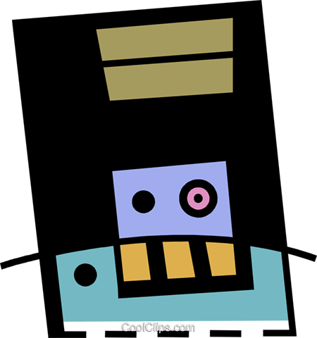 Diskettes Floppy Disks Royalty Free Vector Clip Art illustration vc078402